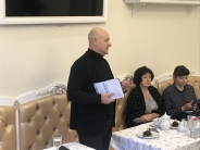 "Volodymyr Panov's book ""The First Investor"" was presented in Uzhgorod"