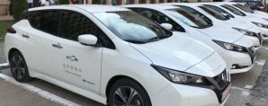 Carcassing with electric cars started in the capital of Romania