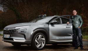 The hydrogen crossover Hyundai Nexo breaks records
